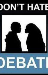 Debate/Forensics Stories by SharkTheHorrorAddict