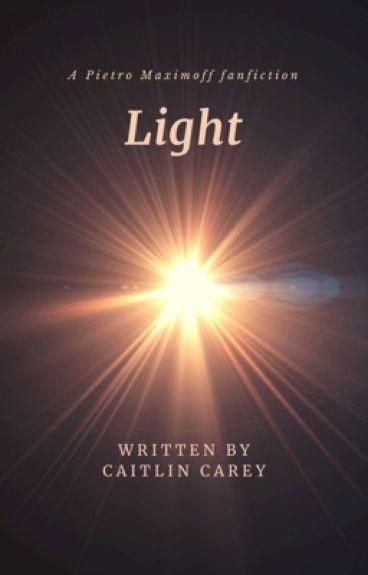 Light (Pietro Maximoff x Reader)