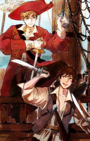 Treasure (Pirate!Hetalia x Reader)