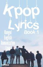 Kpop lyrics // book 1  by YoonMinTae
