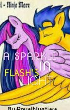 A Sparkle In Flash's Light by Royalbluetiara