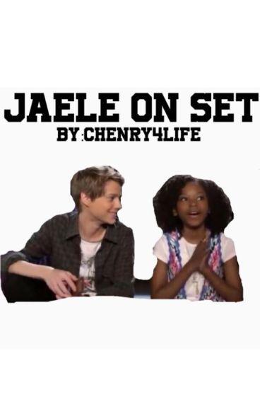 Jaele On Set