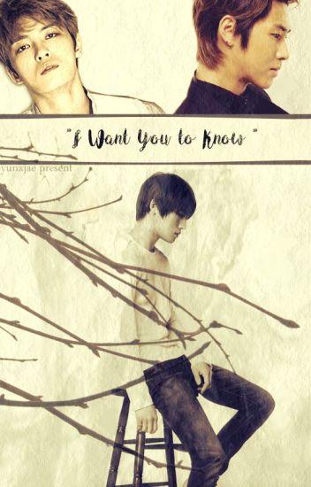 I Want You To Know ( Boy x Boy)