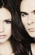 Pieces. Damon and Elena by AdirenneJamson