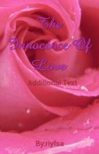 The Innocence Of Love by riyfsa