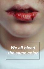 We all bleed the same color(Taehyung FF) by BrinaJagodi