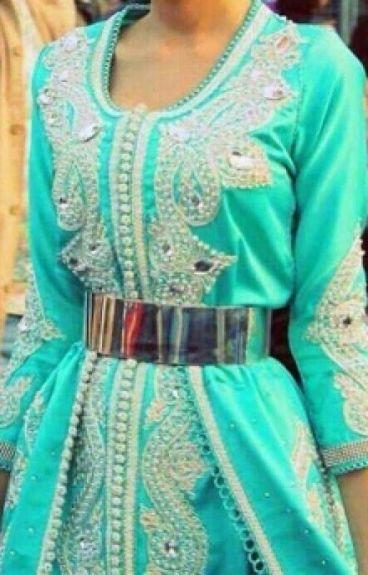 La chica del vestido verde