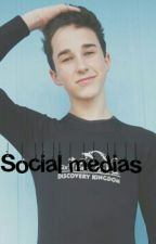 social medias; hunter Rowland  by smilingfanfics