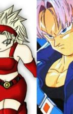 Trunks del futuro y la hija de Goku by merybrief2000
