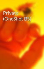 Private (OneShot BS) by SecretlyNobodyKnows