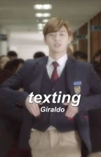 ✉ texting ✉ ↔ R.L. by newords