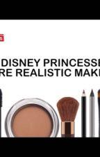 If Disney Princesses Wore Realistic Makeup by KanzakiMizuki918