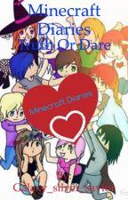 Minecraft Diaries Truth Or Dare by Galaxy_silver_savior
