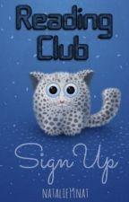 Wattpad Reading Club: Sign Up by readingclub