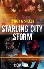 Spidey & Speedy - Starling City Storm by RickyPine