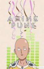 Anime Puns by iwatobichan