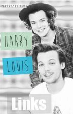 Harry + Louis (Links) by happydays-bus1