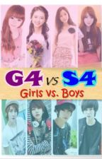 G4 vs. S4 (Girls vs. Boys) by emjeyenpi