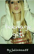 teenage girl by julinkaa55