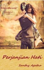 Perjanjian Hati - Brown Afternoon Colorful Of Love NOVEL EDITION by SanthyAgatha