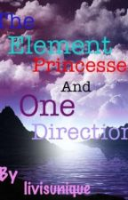 The Element Princesses and One Direction by livisunique