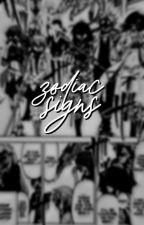 zodiac signs ✓ by lovehwan