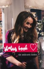 status book xx unicorn notes by lucayafairytales