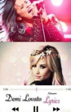 Demi Lovato Lyrics by kylanyman