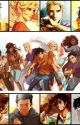Demigods at Hogwarts by Redrubygoldpearl