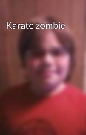 Karate zombie by KristofferKarlsson