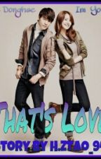 That's Love (YOONHAE FANFICTION) [ONESHOOT] by HZTao_94