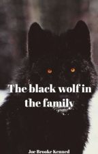 The black wolf in the family by JoeBrookeKenned
