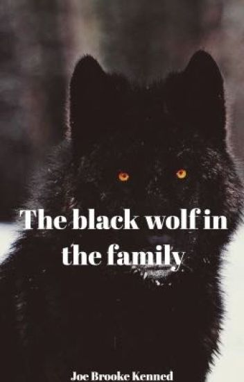 The black wolf in the family