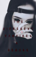 The Different: Vampires n' Demons |G!P| by Jaguarte