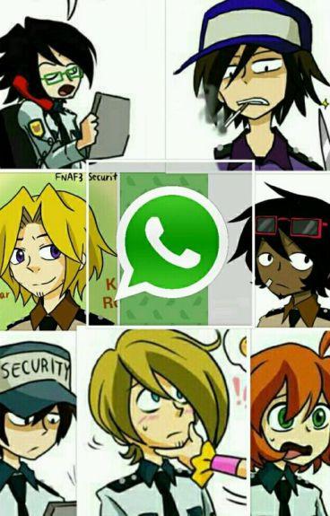Whatsapp Guardias FNaF