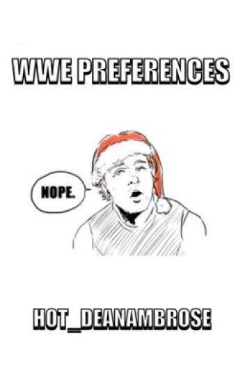 WWE Preferences