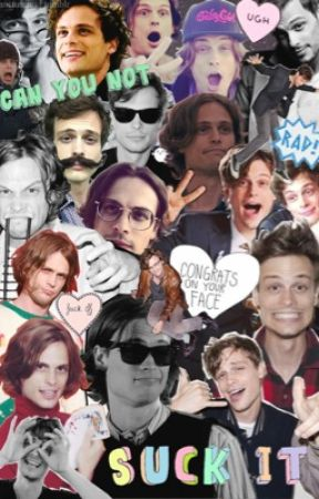 Matthew Gray Gubler One Shots. by DelightfulDetonator