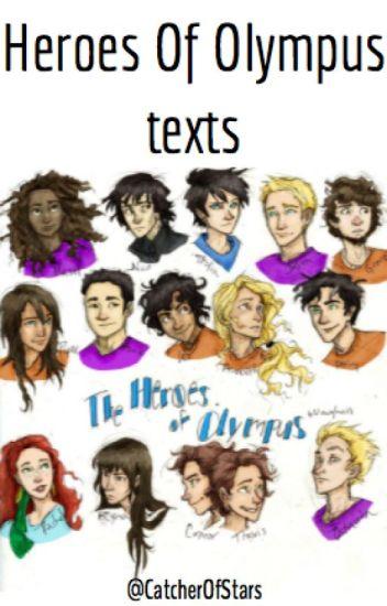 Heroes of Olympus Texts
