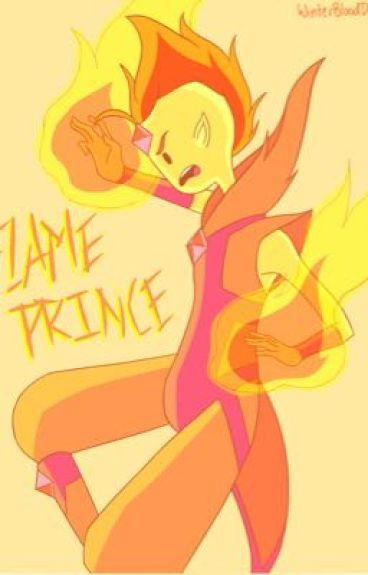 Boy of fire - Prince of sweets                                                           (Flame Prince x reader x Prince Gumball)