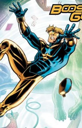 Justice League Origin: Booster Gold by ArgenisJose