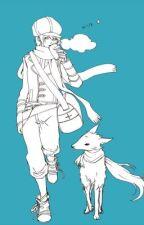 My Pet Cat -The Past- (Tegami Bachi) by CrownClownNeko