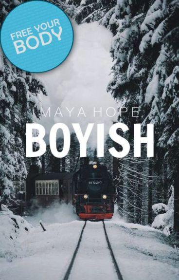 Boyish.
