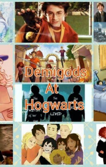 Demigods at Hogwarts ❤(Completed)