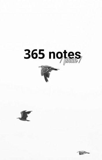 phan // 365 notes ✓