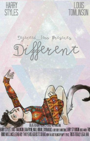 Different ~ Larry Stylinson (Hybrid!Harry) (CANCELLED IN 2014)