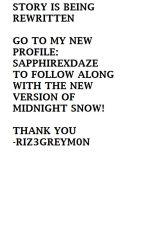 Midnight Snow (GirlxGirl) [Lesbian Story] {Discontinued} by Riz3greym0n