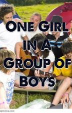 One Girl in A Group of Boys by ChoiceOkoh