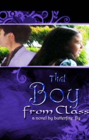 That Boy from Class by butterfire_fly