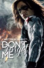 Don't Forget Me -Bucky Barnes- by Mrs_Capsicle_Rogers