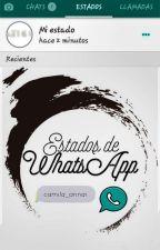 Estados de WhatsApp by camila_annai